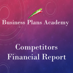 Competitor financial report