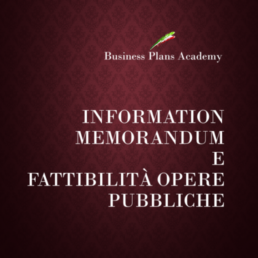 Information memorandum, project finance