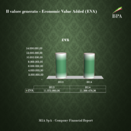 Financial report esempi EVA economic value added