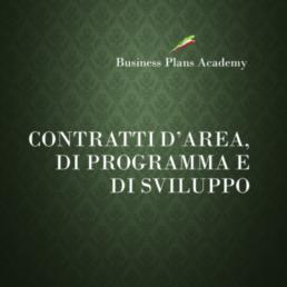 Business plan e Marketing territoriale, tessuto imprenditoriale, contratto d'area, contratto di sviluppo, contratto di programma,