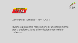 Itria - Business plan