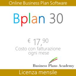 bplan mese, online business plan, modello, redazione