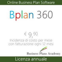 online business plan, bplan 12 mesi, licenza 12 mesi
